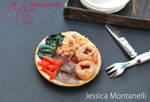 Miniature Sunday Roast Dinner