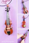 Miniature Viola - Pendant