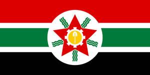 Flag Mashriq (communist)