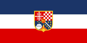 Flag Yugoslavia - state (alternate history)