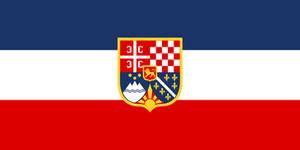 Flag Yugoslavia - state (alternate history) by YamaLlama1986