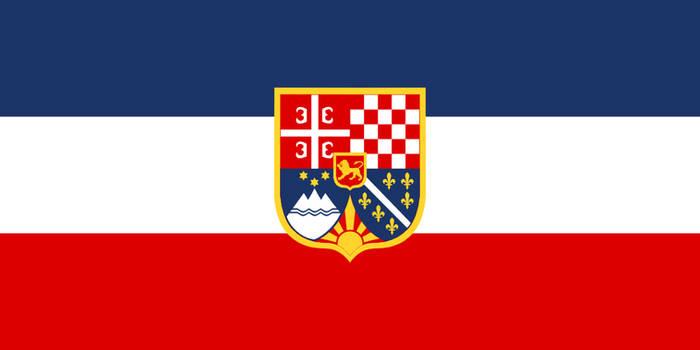Flag Yugoslavia - state (alternate history)