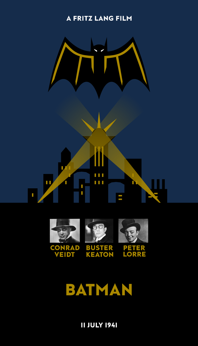 Alternate History 1941 Batman Movie By Fritz Lang By Yamalama1986 On
