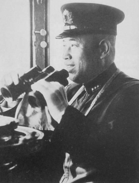 Admiral Yamamoto Isoroku on ship's bridge by YamaLama1986