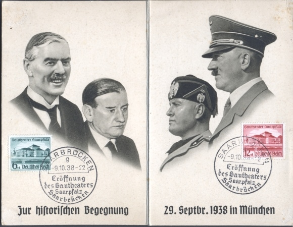 German Postcard Munich Agreement By Yamalama1986 On Deviantart