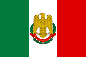 Flag Italy State alternate history by YamaLlama1986