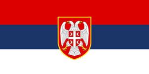 Flag Serbia - state, alternate history large by YamaLlama1986