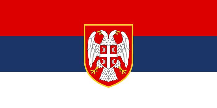 Flag Serbia - state, alternate history large