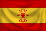 Flag Spain State Falangist alt hist by YamaLama1986