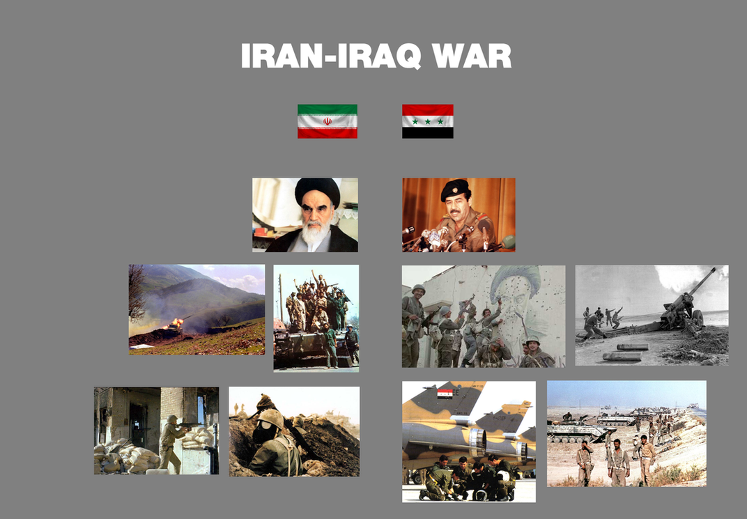iran iraq war War background •hoping to take advantage of the chaos of the iranian revolution iraq invaded iran in sept 1980 under their leader saddam hussein •iraq was worried the revolution might.