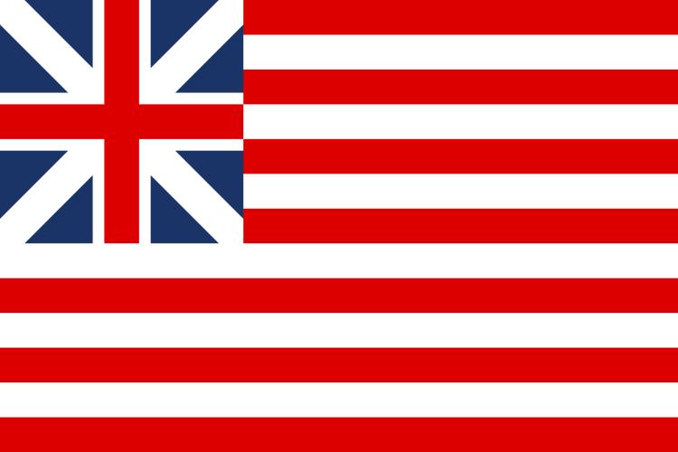 Flag United States 1776-77 by YamaLama1986