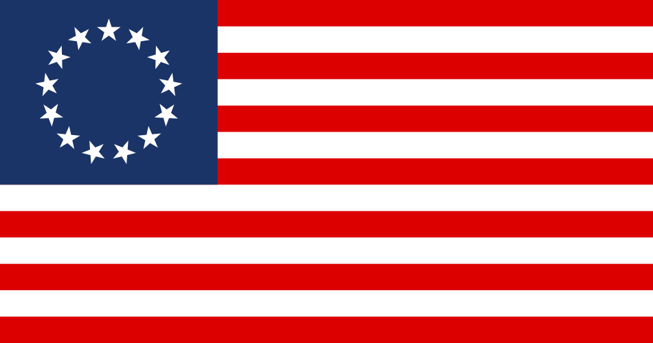 Flag United States 1777-95 by YamaLama1986