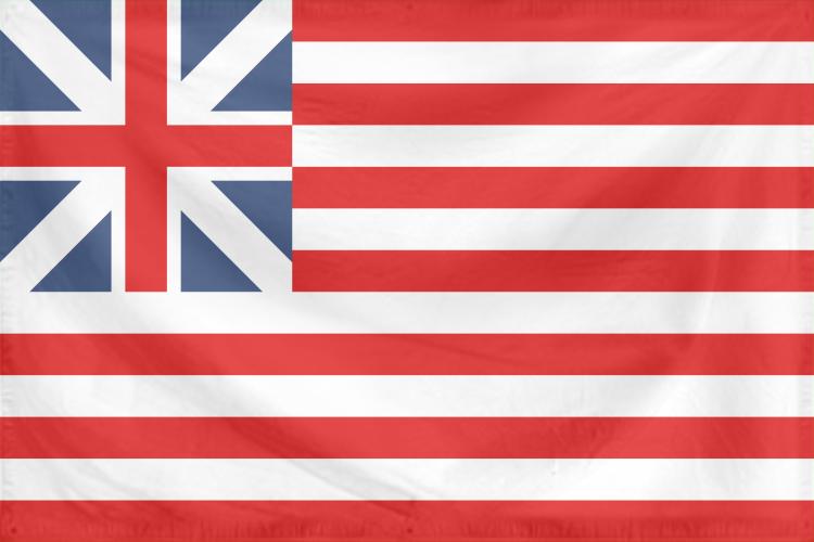 Rippled Flag United States 1776-77 by YamaLama1986
