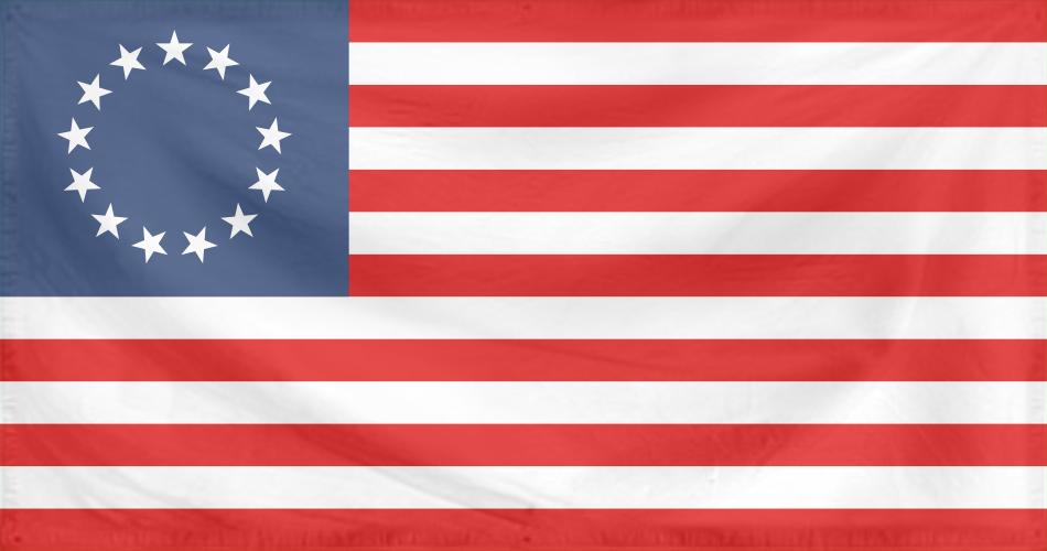 Rippled Flag United States 1777-95 by YamaLama1986