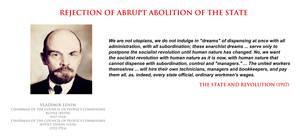 Vladimir Lenin - on abolition of the state