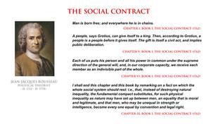 Jean-Jacques Rousseau - social contract
