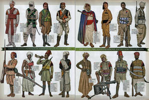 Italian colonial soldiers by YamaLlama1986