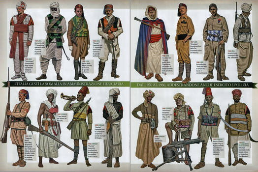 Italian colonial soldiers