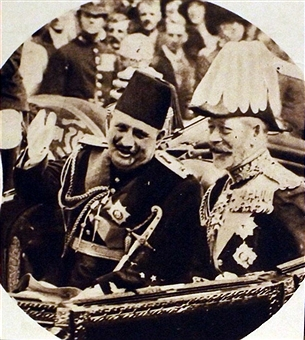 Fuad I of Egypt with George V of Britain by YamaLama1986