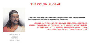 Tewodros II - the colonial game by YamaLlama1986