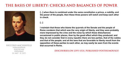 Niccolo Machiavelli - the basis of liberty by YamaLlama1986