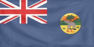 Rippled Flag Gold Coast 1877-1957