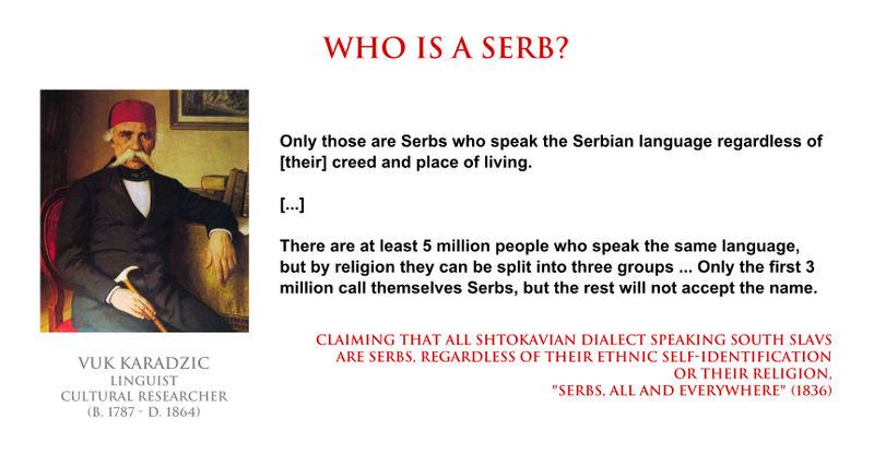 Vuk Karadzic - who is a Serb by YamaLlama1986 on DeviantArt