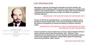 Vladimir Lenin - on imperialism