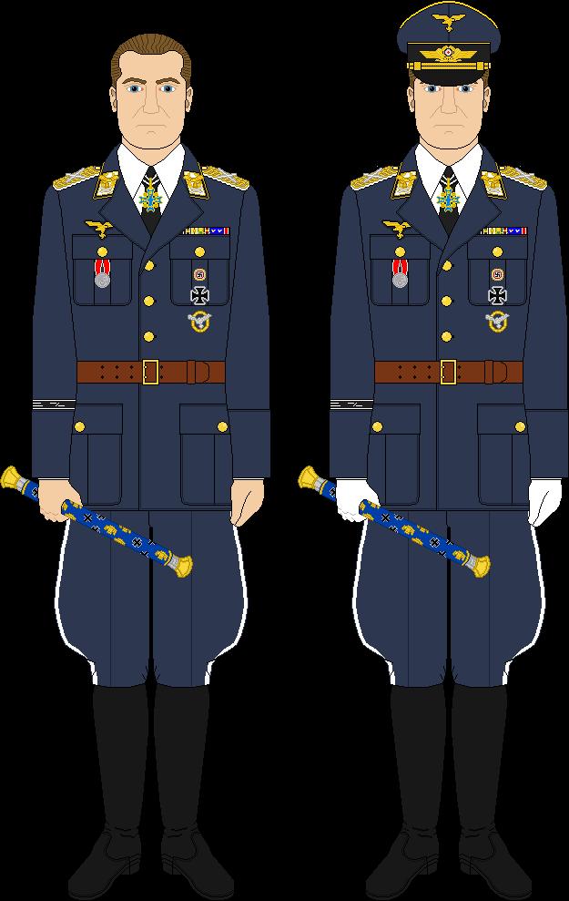 Goering, 1938, Luftwaffe uniform sample 1 by YamaLlama1986