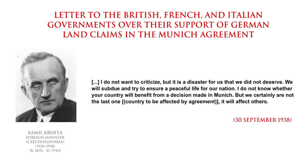 Kamil Krofta On The Munich Agreement By Yamalama1986 On Deviantart