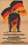 Reichsbanner Schwarz-Rot-Gold poster