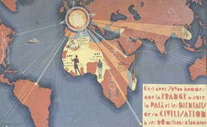 French colonial empire poster interwar period by YamaLlama1986