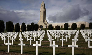 Verdun French World War I Cemetary and Memorial by YamaLlama1986