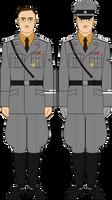 Himmler, 1942, SS (Waffen) uniform sample 1