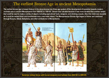 Earliest Bronze Age in ancient Mesopotamia by YamaLlama1986