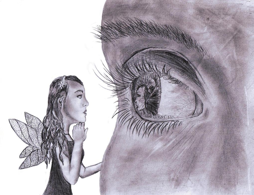 Eye Mirror by phoenixfyre6967