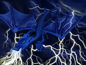 Dragon in a Storm