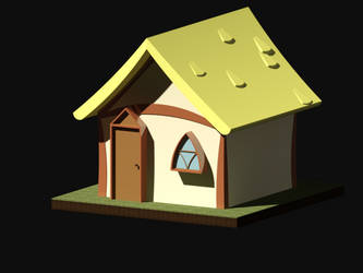 MLP-FIM Small House - AutoCAD Exercise