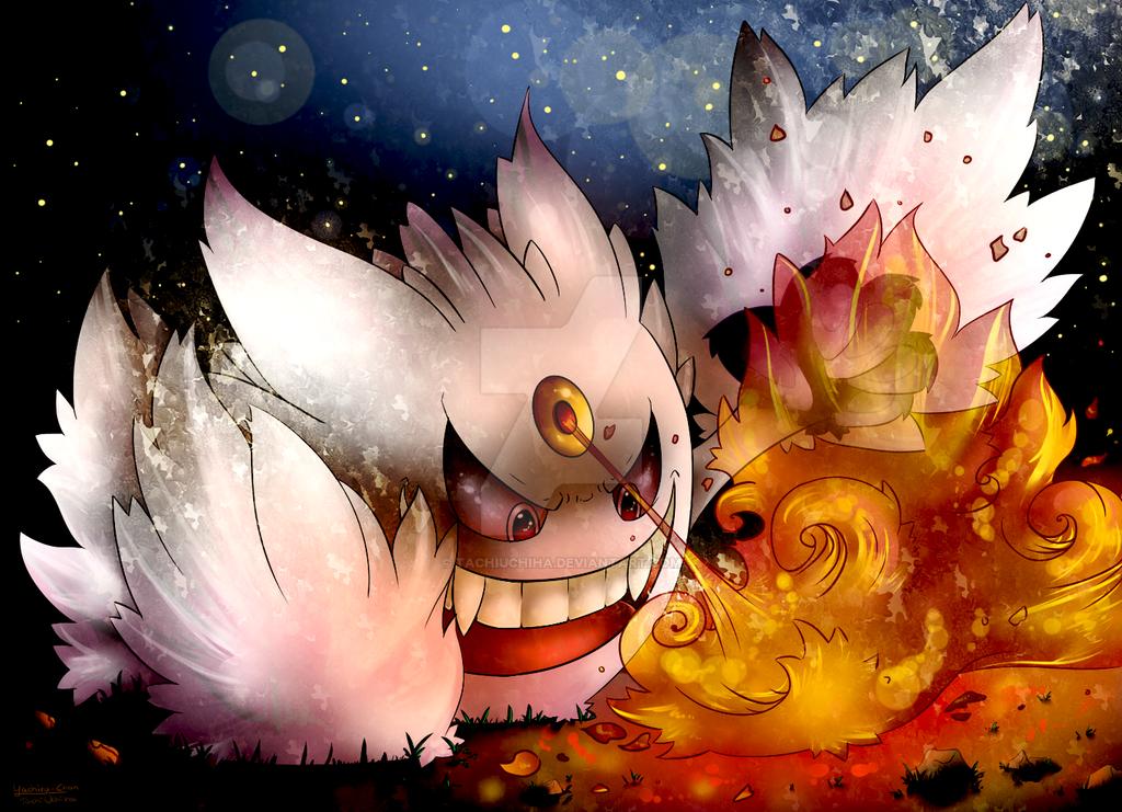 Mega Gengar by TachiUchiha