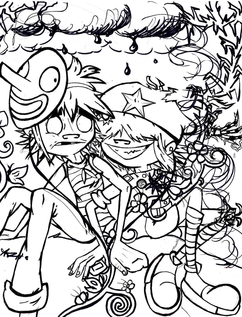 Lets doodle coloring coloring pages