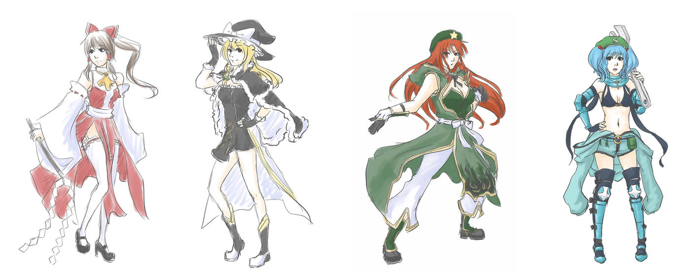 Ragnarok Online Gensyoko style by LadyRawr on DeviantArt