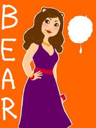 Bear-Girl -tegaki e- by tatsku
