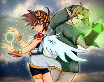 Pit and Link, SSBB Style by MikaRabidKitsune