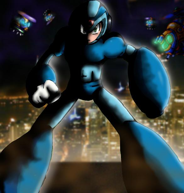 Mega Man X by MikaRabidKitsune