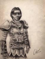 Vilkas sketch by velaine
