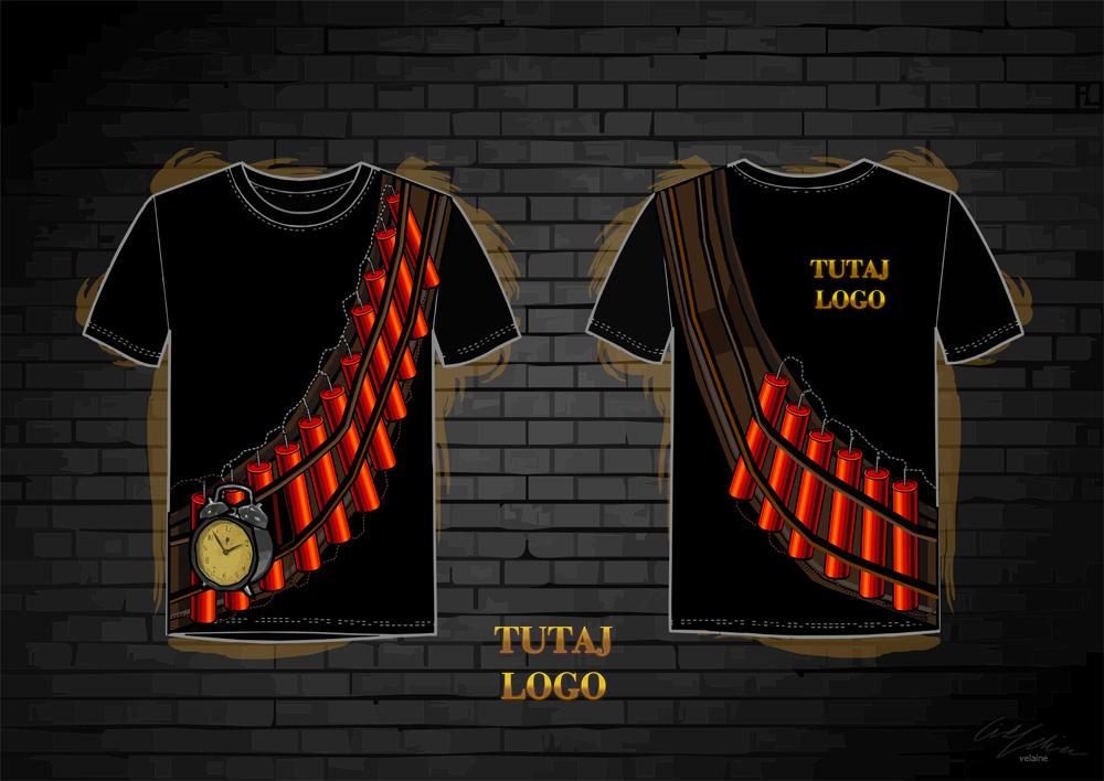 T-shirt design by velaine