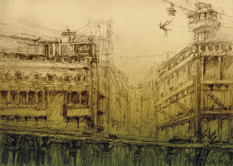 Broken City by velaine