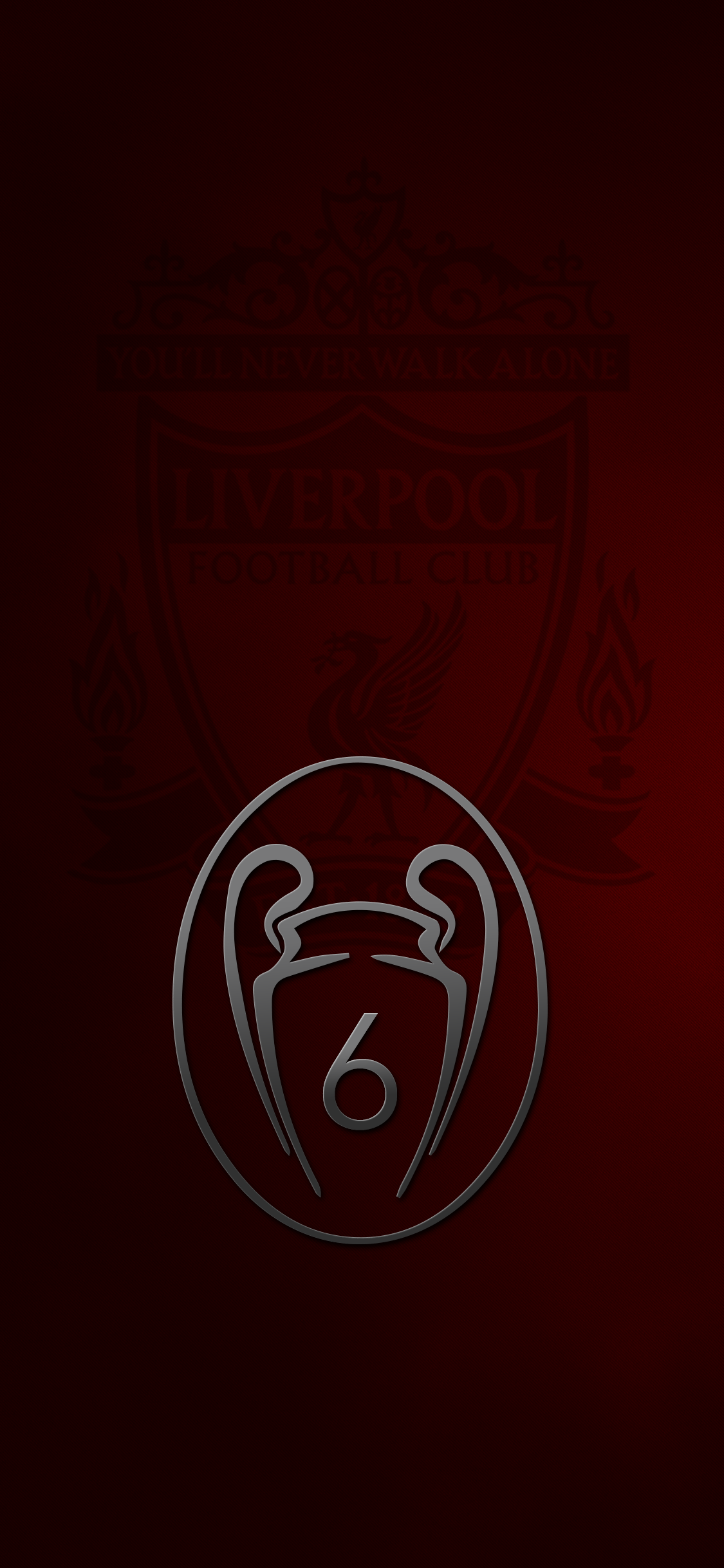 Liverpool FC iPhone X Wallpaper by
