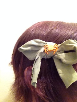 1st Bow in hair 2 by WTFgirl