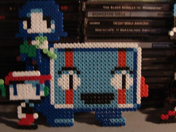 Physical Sprites - Cave Story by darku